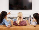 ¿Cuál es la media de edad de los espectadores de cada cadena de televisión?
