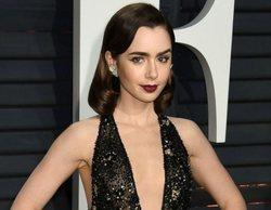 Lily Collins protagonizará 'Emily in Paris', la nueva serie de Darren Star ('Sexo en Nueva York')