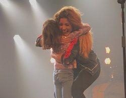 """Jimena, la niña que cantó """"No!"""" junto a Miriam Rodríguez en un concierto y enamoró a los fans"""
