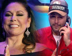 Isabel Pantoja entra por teléfono en 'GH Dúo' para hablar con su hijo Kiko Rivera