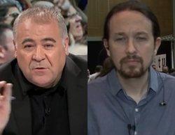 Antonio G. Ferreras y Pablo Iglesias se enfrentan en pleno directo por culpa de Eduardo Inda