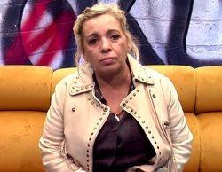"""Carmen Borrego, a punto de abandonar 'Sálvame Okupa' tras recibir un tartazo de Payasín: """"Es una crueldad"""""""