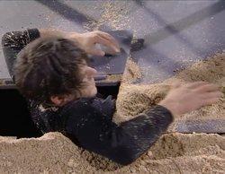 'Got Talent': La claustrofóbica actuación de Alfred Cobami al escapar de 17 toneladas de arena