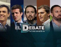 'El Debate' de Atresmedia centrará sus tres bloques en programas electorales, Cataluña y pactos de gobierno