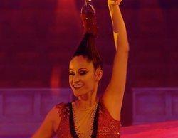 Un fallo técnico en 'Got Talent' deja a Luana Cayres suspendida únicamente por su pelo durante un minuto