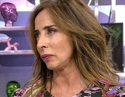 """María Patiño se enfada con un reportero en 'Socialité' por hablar mal de Isabel Pantoja: """"¡Te has colado!"""""""
