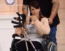 Sonia aparece en silla de ruedas en 'Bake Off' tras su accidente, sorprendiendo a todos sus compañeros