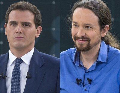 """Rivera e Iglesias se unen para criticar a Sánchez y su """"uso partidista"""" de RTVE"""