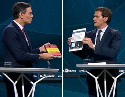 """Sánchez, Iglesias, Casado y Rivera, enfrentados en 'El Debate': """"Las mentiras vuelan"""""""