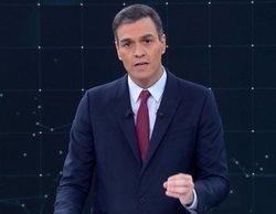 """El reproche de Pedro Sánchez a Pablo Casado en el debate de RTVE: """"Debería explicar a los suyos que no es no"""""""