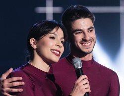 'Fama a bailar': Carla y Marshall se convierten en la pareja inmune a pesar de un fallo durante su actuación