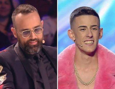 Risto Mejide se reconcilia con El Cejas en 'Got Talent' gracias a su hijo