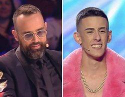"""Risto Mejide se reconcilia con El Cejas en 'Got Talent': """"Has hecho algo muy importante para mi hijo, gracias"""""""