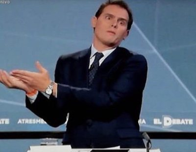 Las redes coronan (de nuevo) a Rivera como el protagonista de los memes de 'El Debate'