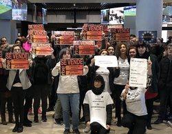 La huelga en RTVE logra un seguimiento mayoritario e impide la emisión de 'La mañana de La 1' y 'Corazón'