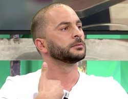 Antonio Tejado abandona indignado el plató de 'Sálvame' para no hablar de su ruptura con Ylenia