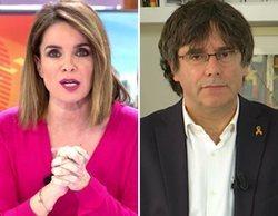 """Carles Puigdemont en 'Cuatro al día': """"Si estuviera huido, no se sabría dónde vivo"""""""