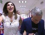La mofa de Paz Padilla y Kiko Hernández al pasar por una foto de Sandra Barneda
