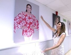 'Sálvame' instala un altar frente al retrato de Isabel Pantoja en los pasillos de Mediaset