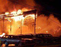 Un incendio destruye el set de rodaje de la miniserie de HBO protagonizada por Mark Ruffalo