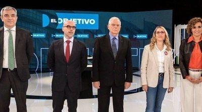 PSOE, PP, Ciudadanos, Vox y Unidas Podemos piden así el voto para las elecciones europeas en 'El objetivo'