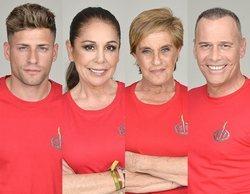 Albert, Isabel, Chelo y Carlos, nuevos concursantes nominados de 'Supervivientes 2019'