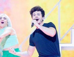 La final de Eurovisión atrae a un 36,7% mientras 'Sábado Deluxe' baja hasta el 12,9%