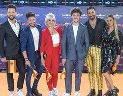 Así fue el 'Eurovision Challenge' con los bailarines de España, San Marino, Grecia, Italia y Chipre