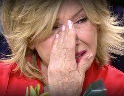 Mila Ximénez rompe a llorar al recibir una sorpresa muy especial en 'Sálvame'