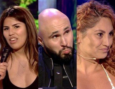 """El cara a cara de Kiko Rivera con Isa Pantoja y Aneth en 'Supervivientes': """"Sois iguales"""""""