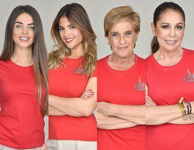 Violeta, Lidia, Chelo e Isabel, nuevas concursantes nominadas de 'Supervivientes'