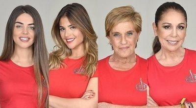 'Supervivientes': Violeta, Lidia, Chelo e Isabel, nuevas concursantes nominadas