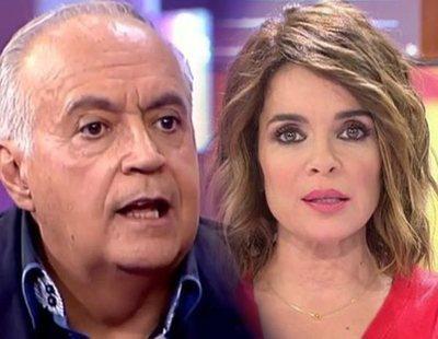 """José Luis Moreno, contra Carme Chaparro: """"No sean miserables y hagan de esto 'Sálvame'"""""""