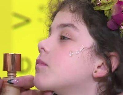 Un curso de maquillaje para niñas en la televisión gallega desata la polémica