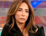 María Patiño abandona corriendo el plató de 'Sálvame' al ver que la sustituyen en el pasillo de Mediaset