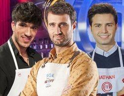 Crossover culinario entre Aleix ('MasterChef 7'), Jorge ('Bake off') y Nathan (finalista de 'MasterChef 5')