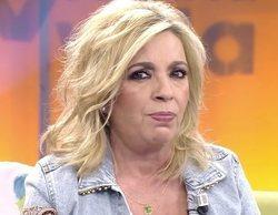 """Carmen Borrego, a Jorge Javier: """"Si llego a estar anoche allí, a lo mejor tiene que venir la policía al plató"""""""