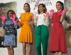 """Mediaset presenta 'Señoras del (h)AMPA': """"Tras la falta de convencionalidad hay una serie que te atrapa"""""""