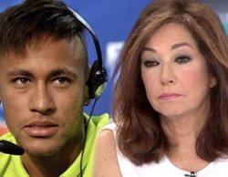 """Ana Rosa Quintana, sobre la actitud de Neymar tras ser acusado de violación: """"Eres un descerebrado"""""""