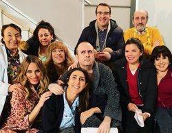 El reparto de 'La que se avecina' anuncia el final del rodaje de la primera parte de la temporada 12