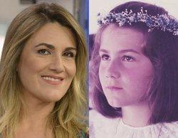 """Carlota Corredera comparte una nostálgica imagen de su primera comunión: """"Hace solo 36 años"""""""