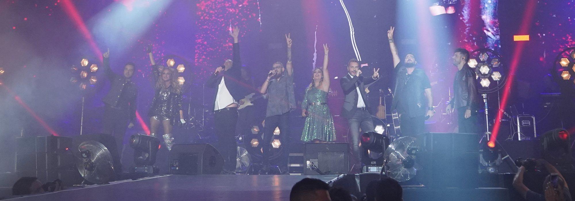 'La Voz' suena más fuerte que nunca con un espectacular concierto que conquista el WiZink Center de Madrid