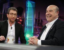 """El troleo de Pablo Motos y Antonio Resines dedicado a David Broncano: """"Esto no es 'La resistencia'"""""""