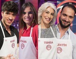 'MasterChef 7': Aleix, Aitana, Teresa y Valentín, aspirantes finalistas de la edición
