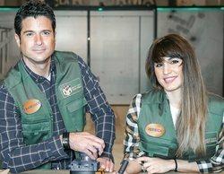 'Masters de la reforma': Paco y Jéssica no cumplen por sus broncas y se convierten en los séptimos expulsados