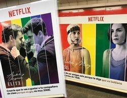"""El reivindicativo mensaje de Netflix en Chueca: """"Si miran, que miren"""""""