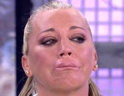 Belén Esteban termina llorando tras ser víctima de una broma pesada en 'Sálvame' sobre su boda