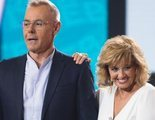 María Teresa Campos no quiere saber nada de Jordi González y le niega el saludo en la boda de Belén Esteban