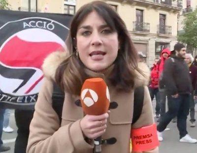 """Blanca Basiano, la reportera """"pesada"""" que incomodó al independentismo, se va de Antena 3"""