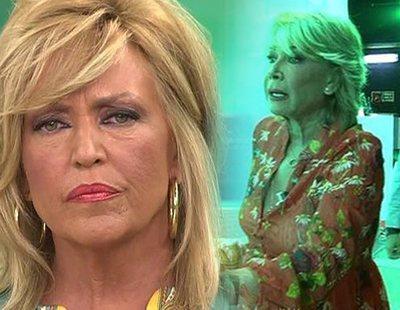 """Mila Ximénez abandona 'Sálvame' tras un broncón con Lydia Lozano: """"¡Eres una falsa!"""""""